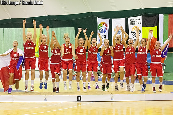 Silver medalists Czech Republic